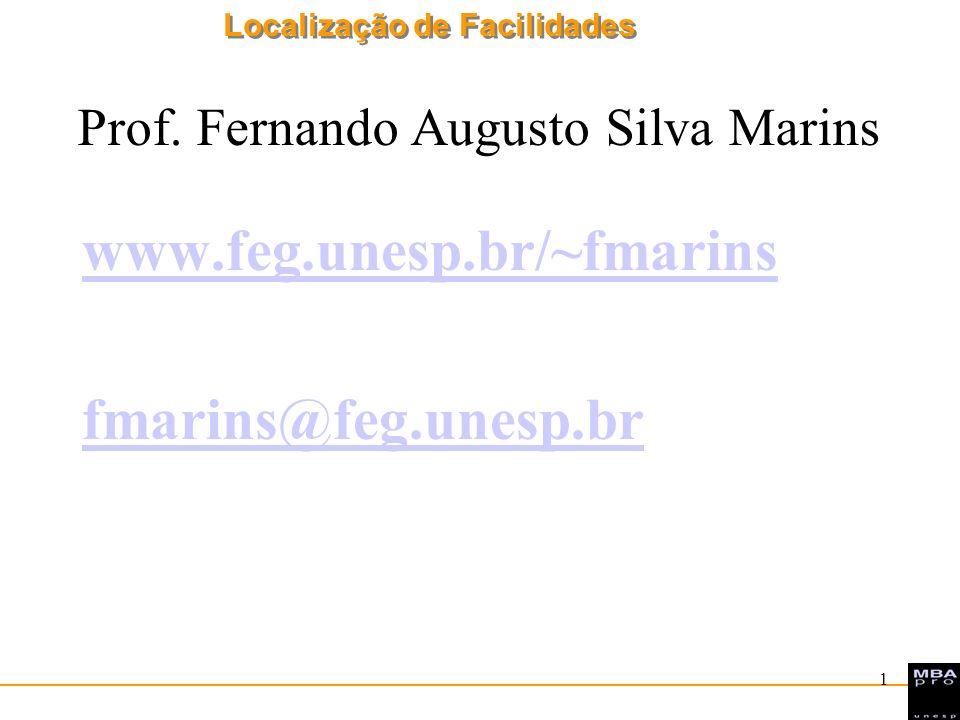 Prof. Fernando Augusto Silva Marins
