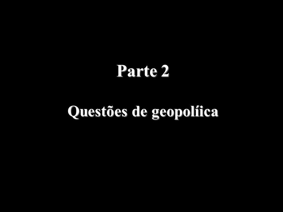 Questões de geopolíica