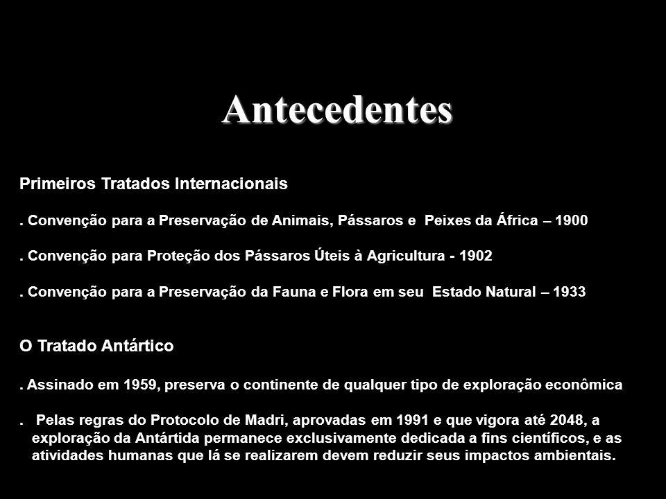 Antecedentes Primeiros Tratados Internacionais O Tratado Antártico