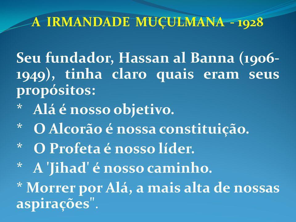 A IRMANDADE MUÇULMANA - 1928