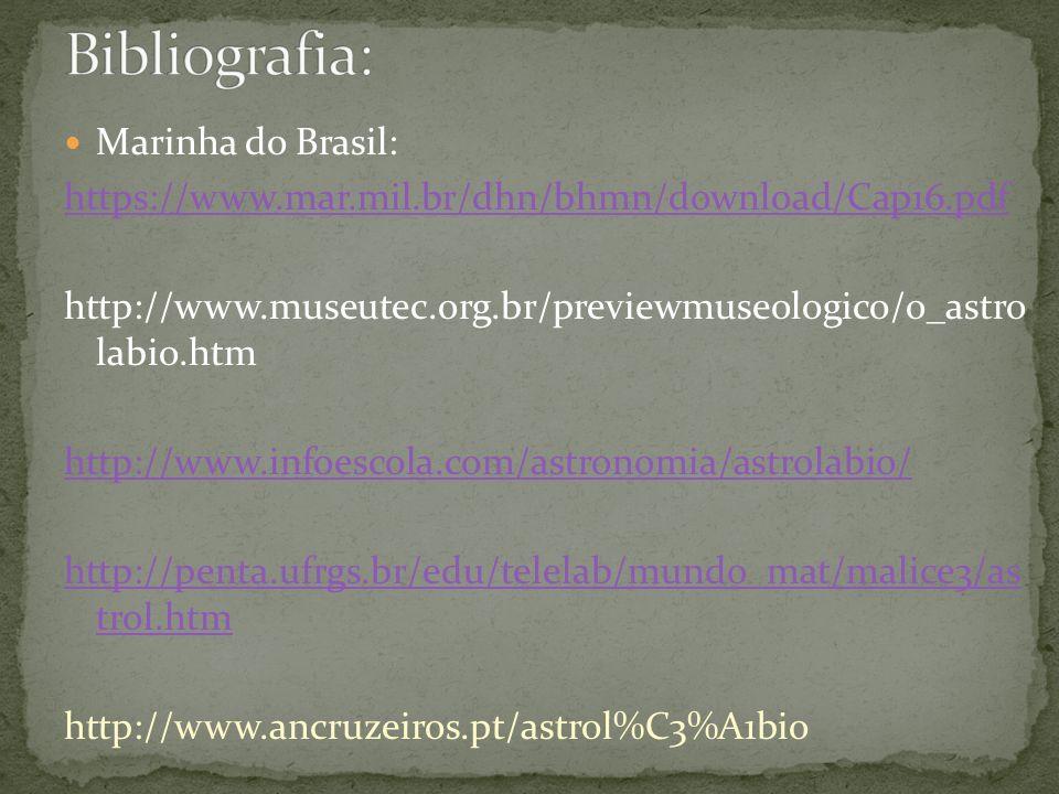 Bibliografia: Marinha do Brasil: