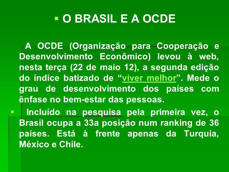 O BRASIL E A OCDE