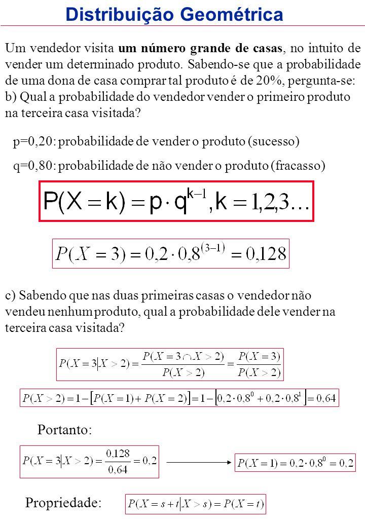 Distribuição Geométrica