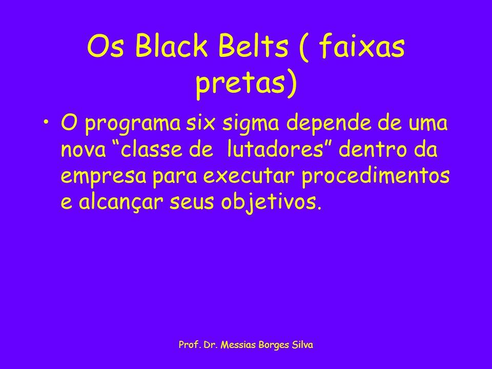 Os Black Belts ( faixas pretas)