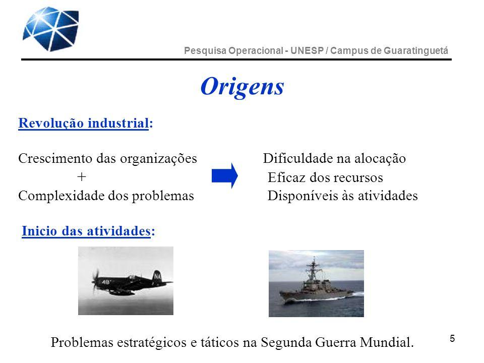 Problemas estratégicos e táticos na Segunda Guerra Mundial.