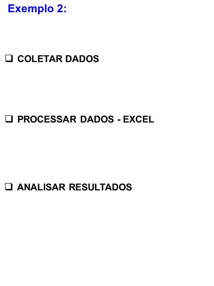 PROCESSAR DADOS - EXCEL