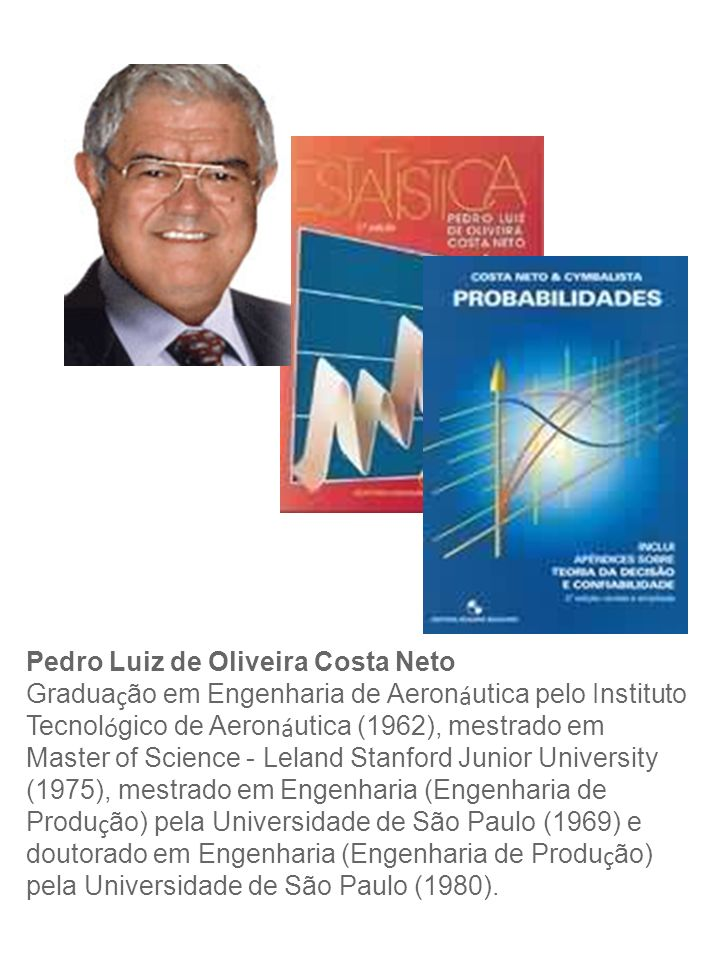 Pedro Luiz de Oliveira Costa Neto