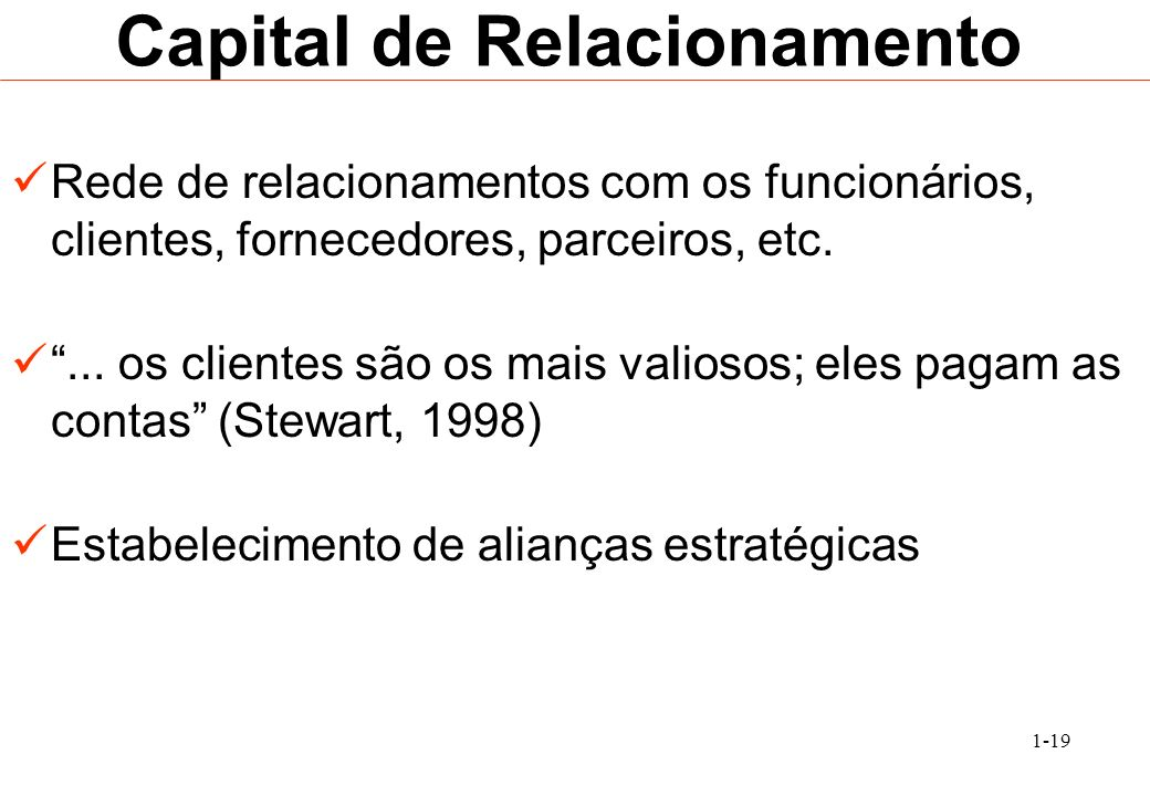 Capital de Relacionamento