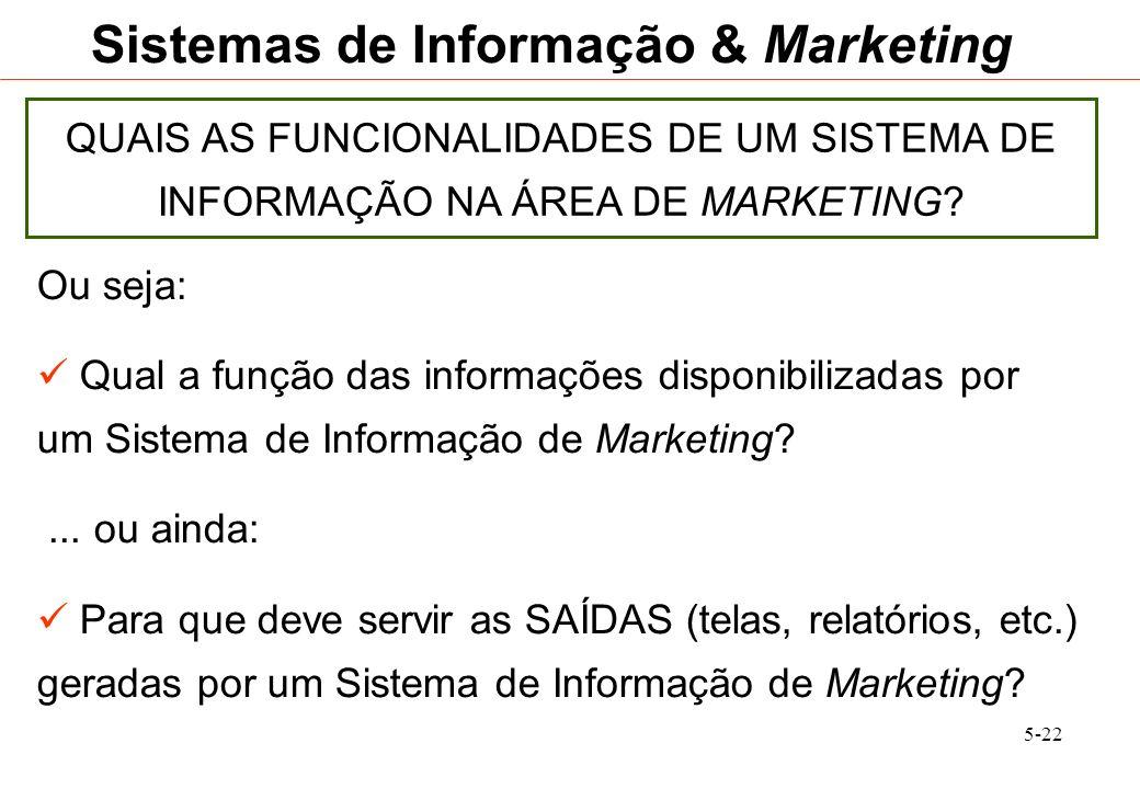 Sistemas de Informação & Marketing