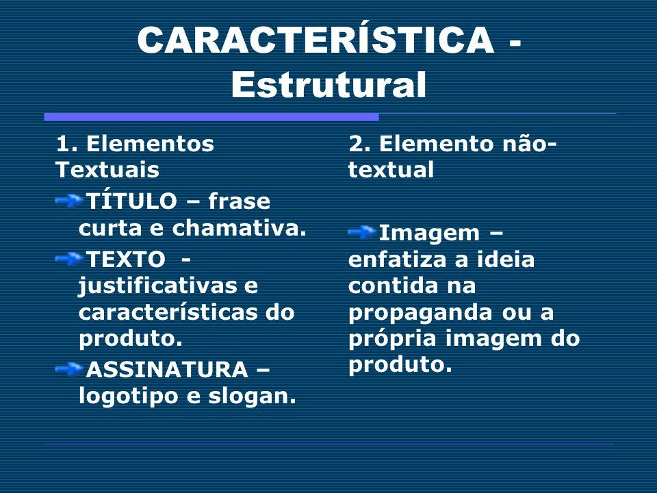 CARACTERÍSTICA - Estrutural