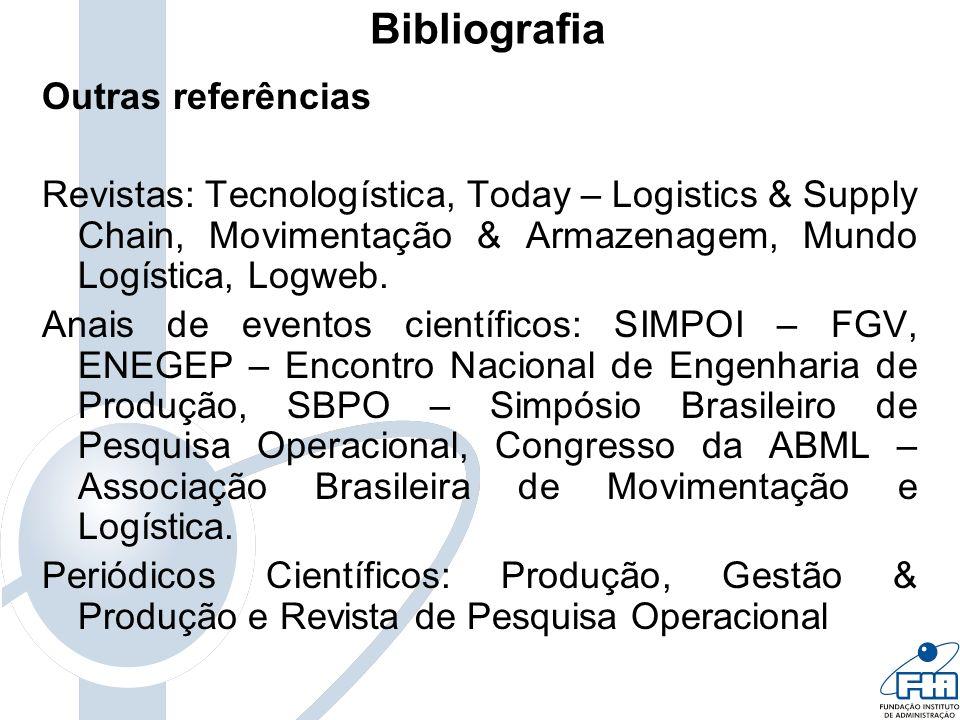 Bibliografia Outras referências