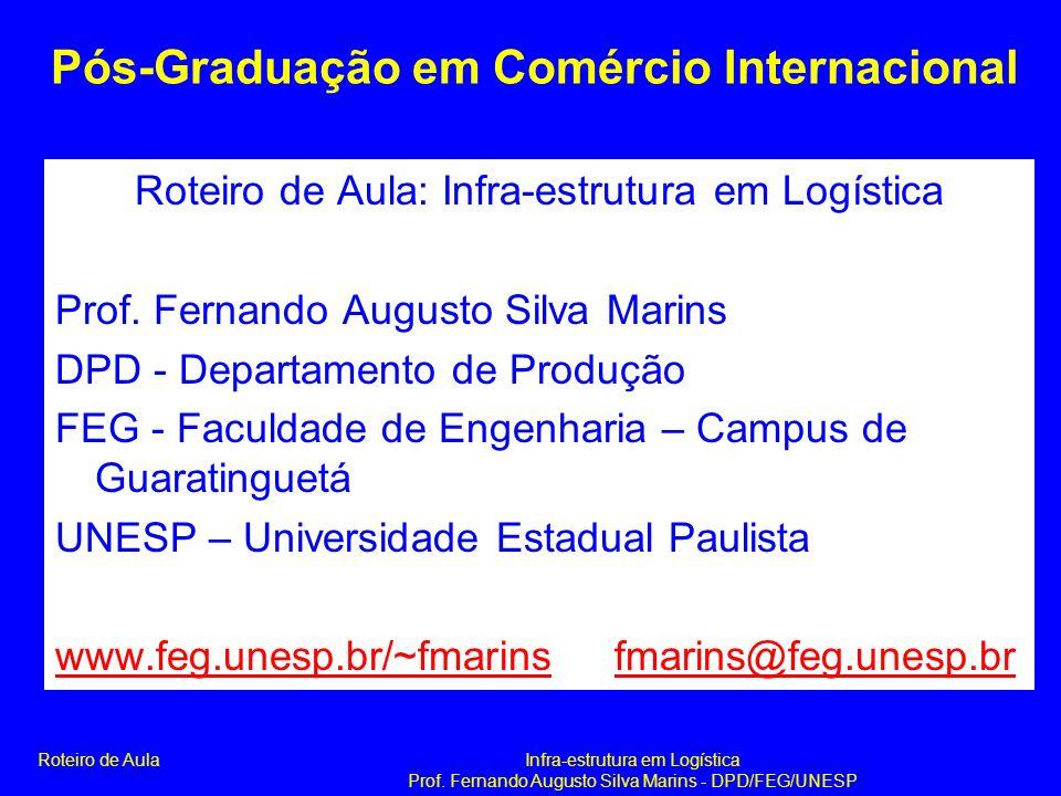 Pós-Graduação em Comércio Internacional