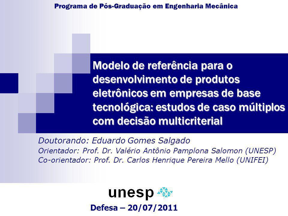 Programa de Pós-Graduação em Engenharia Mecânica