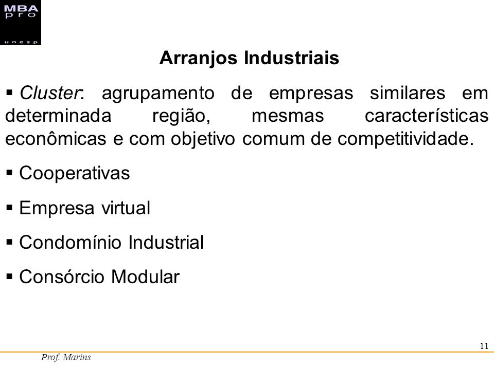 Condomínio Industrial Consórcio Modular