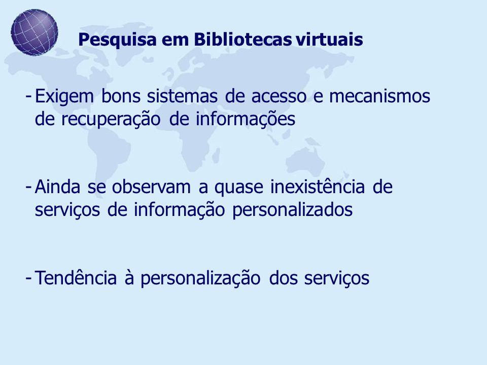 Tendência à personalização dos serviços