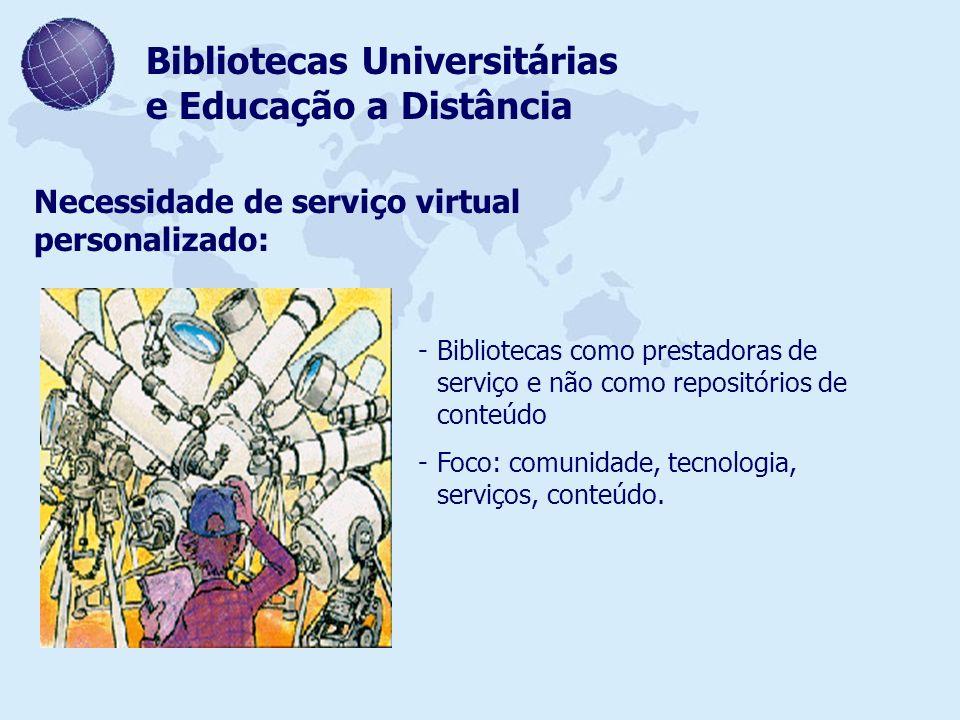 Bibliotecas Universitárias e Educação a Distância