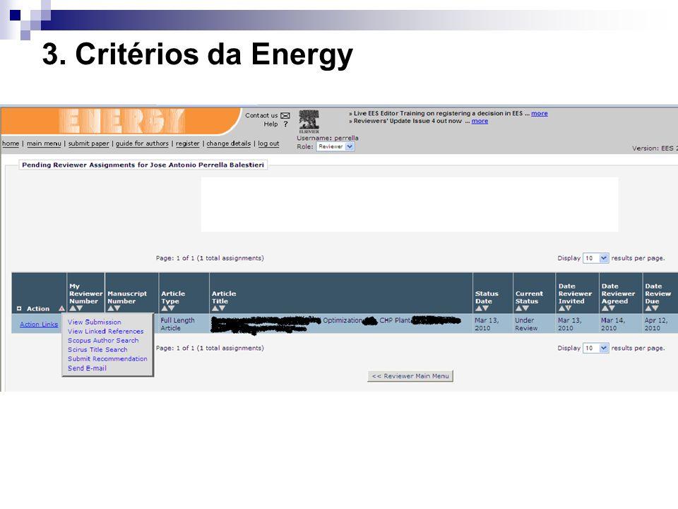 3. Critérios da Energy 19