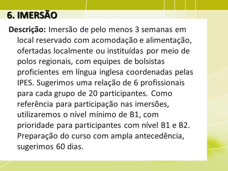 6. IMERSÃO