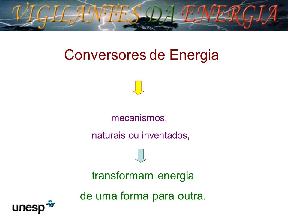 Conversores de Energia