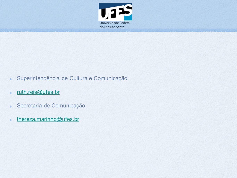 Superintendência de Cultura e Comunicação