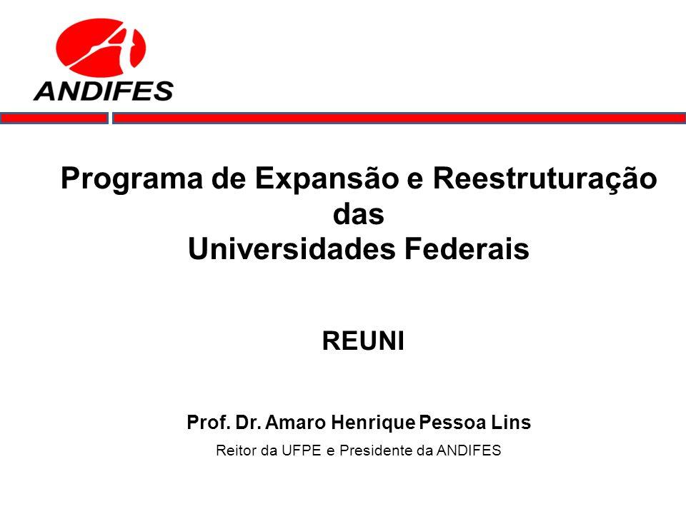 Programa de Expansão e Reestruturação das Universidades Federais
