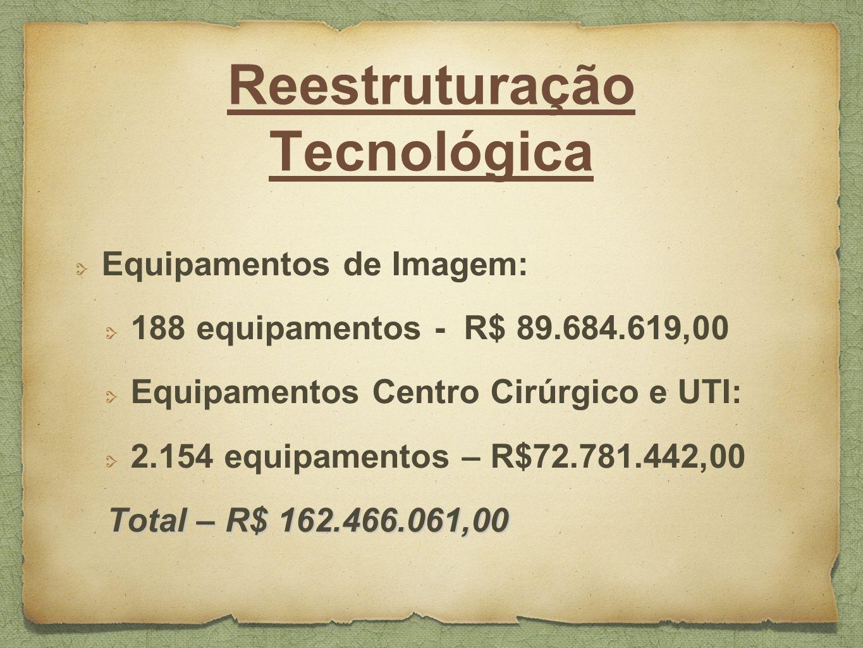Reestruturação Tecnológica