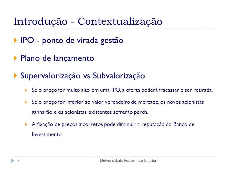 Introdução - Contextualização