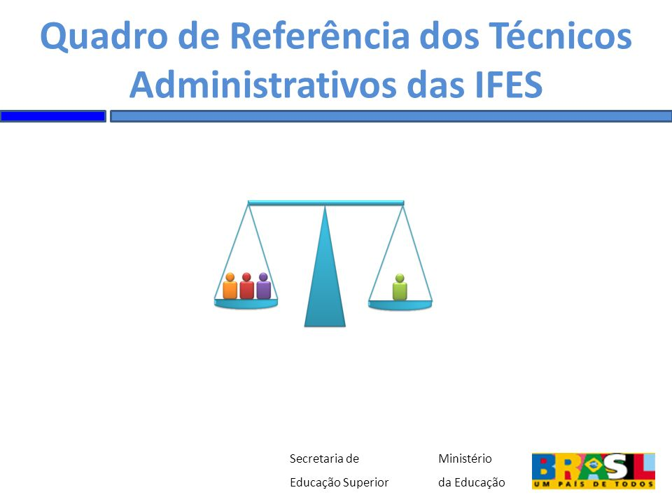 Quadro de Referência dos Técnicos Administrativos das IFES