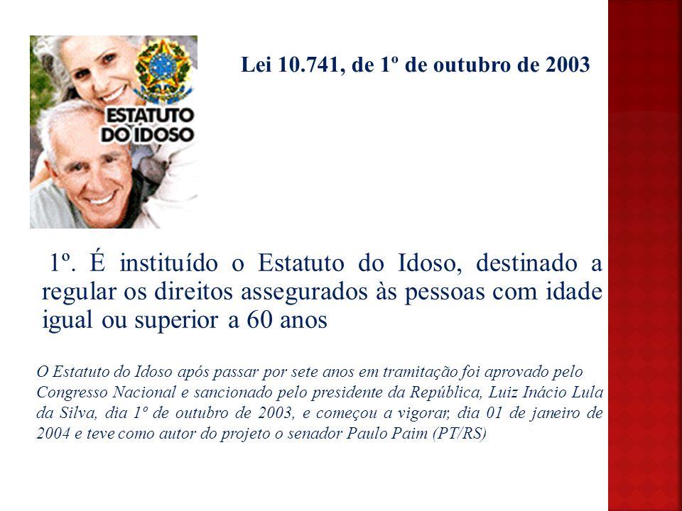 Lei 10.741, de 1º de outubro de 2003