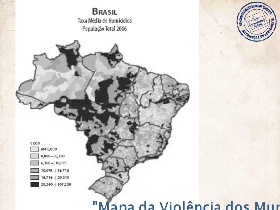 Mapa da Violência dos Municípios
