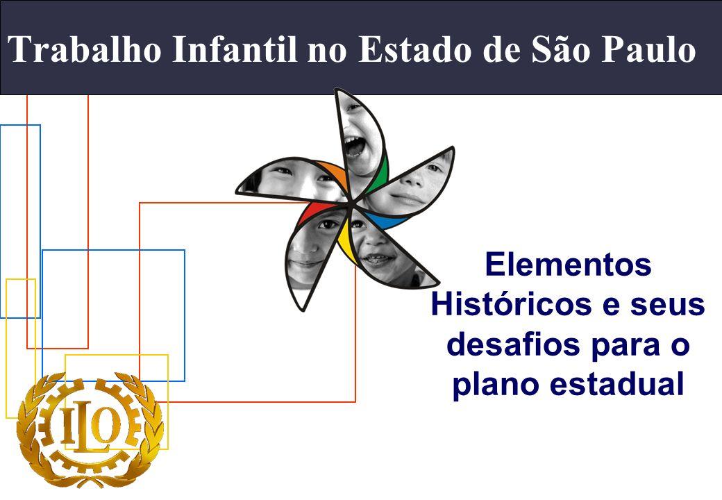 Trabalho Infantil no Estado de São Paulo
