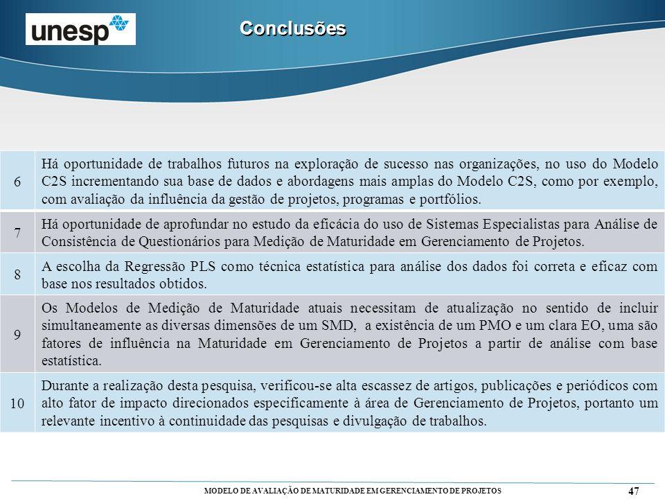 Conclusões 6.