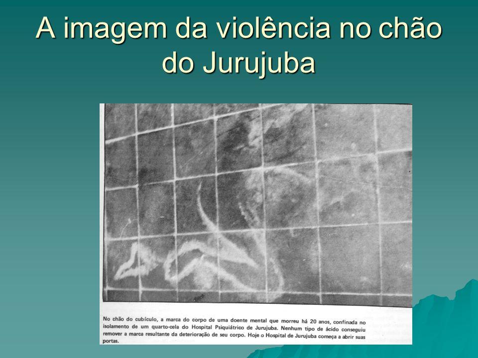 A imagem da violência no chão do Jurujuba