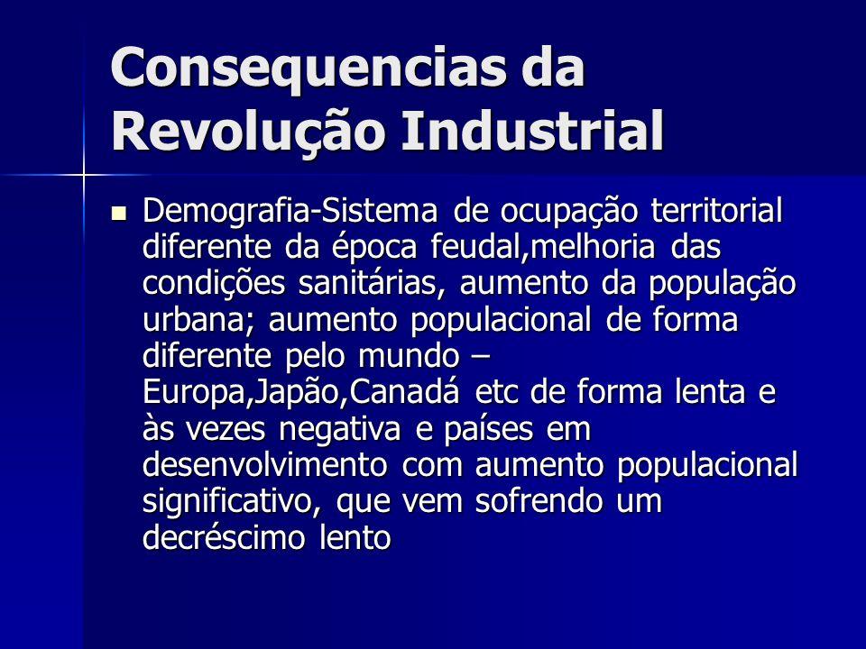 Consequencias da Revolução Industrial