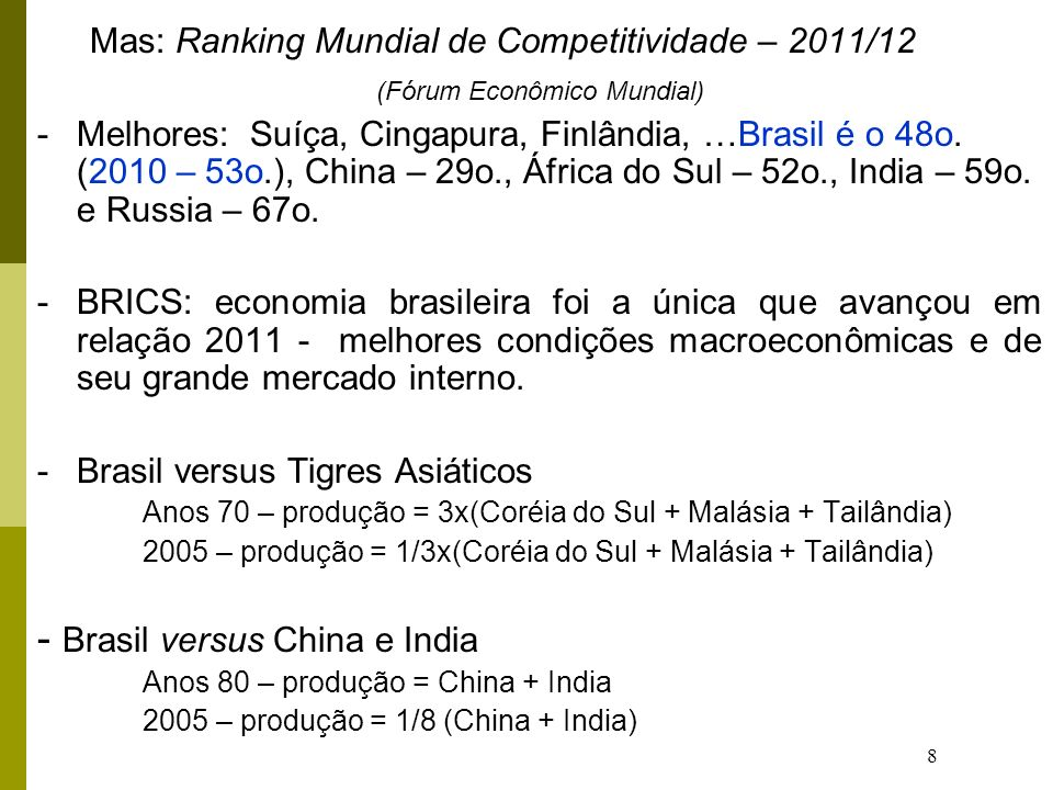 (Fórum Econômico Mundial)