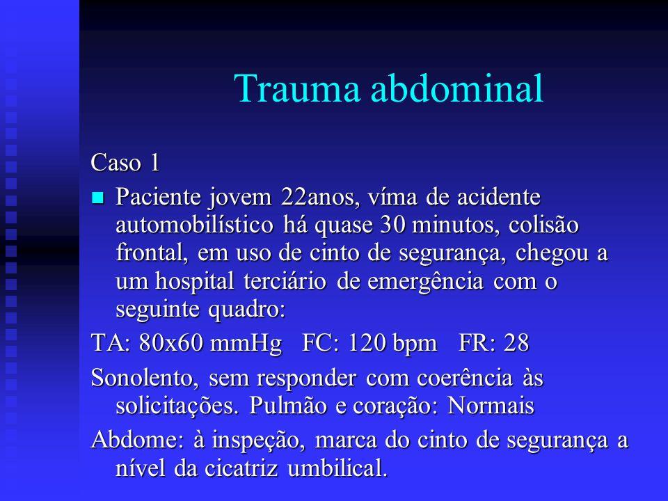 Trauma abdominal Caso 1.