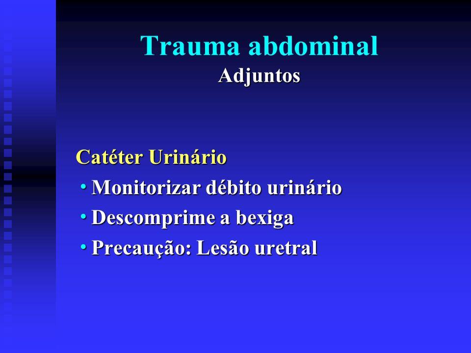 Trauma abdominal Adjuntos