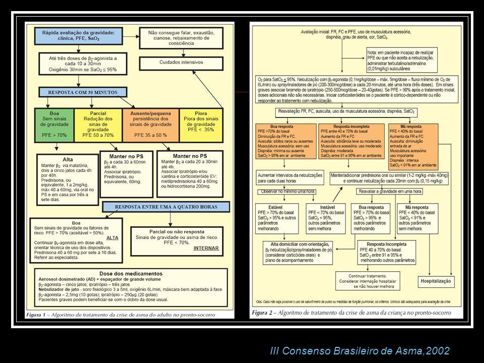 III Consenso Brasileiro de Asma,2002