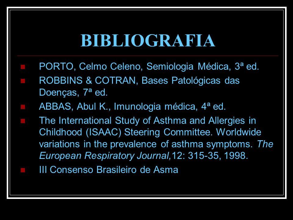 BIBLIOGRAFIA PORTO, Celmo Celeno, Semiologia Médica, 3ª ed.