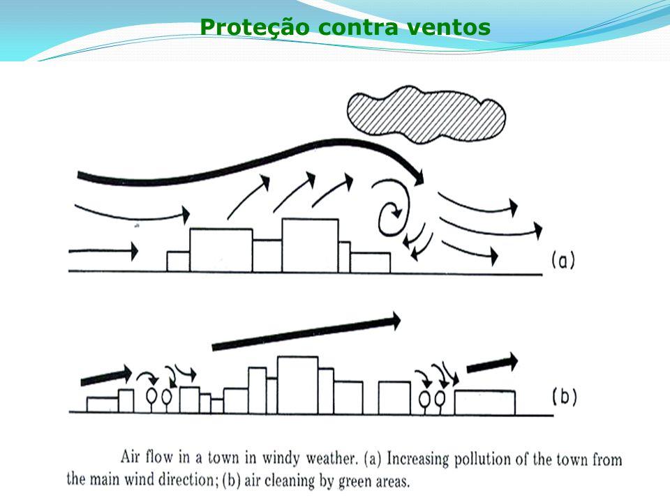 Proteção contra ventos