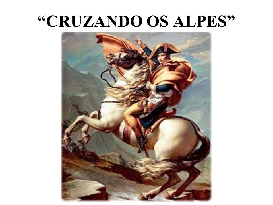 CRUZANDO OS ALPES