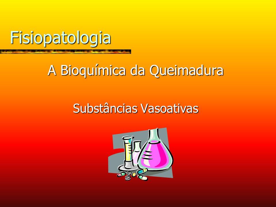 Fisiopatologia A Bioquímica da Queimadura Substâncias Vasoativas