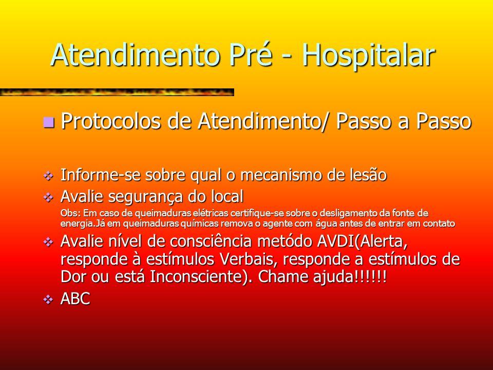 Atendimento Pré - Hospitalar
