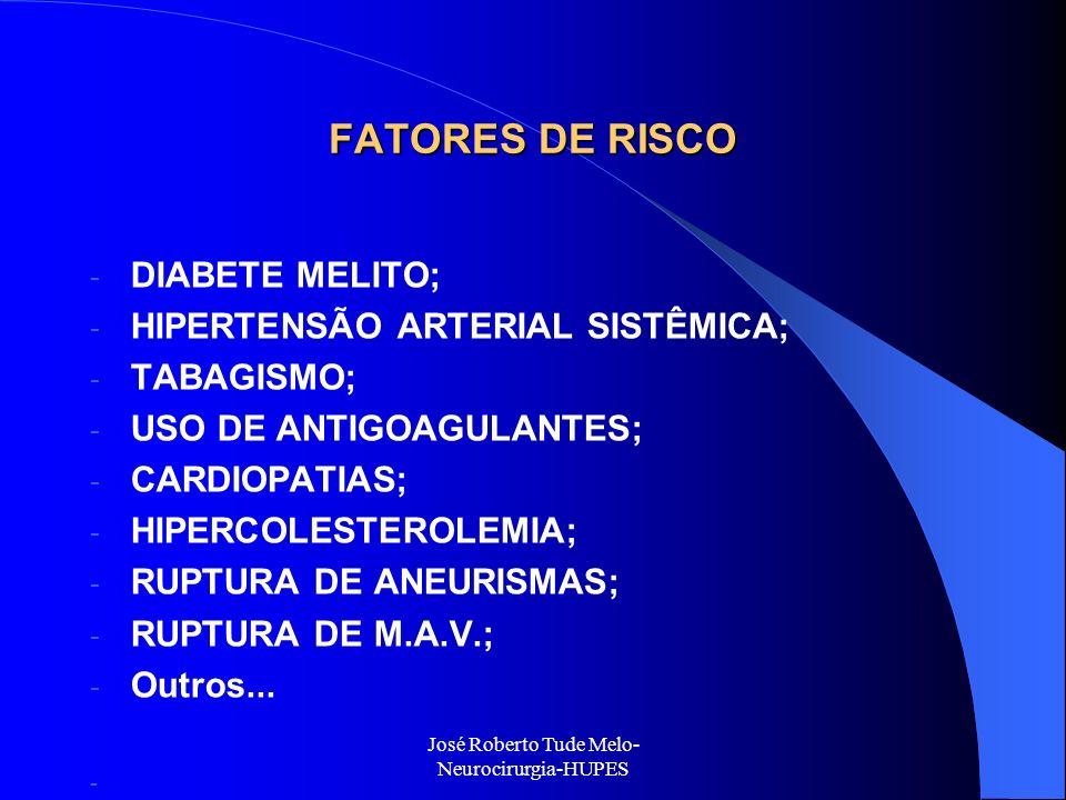 José Roberto Tude Melo-Neurocirurgia-HUPES