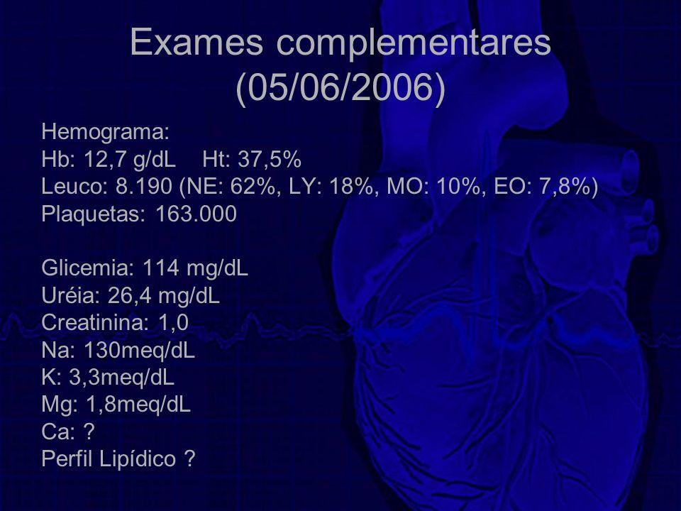 Exames complementares (05/06/2006)