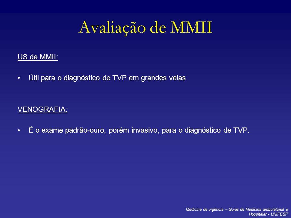 Avaliação de MMII US de MMII: