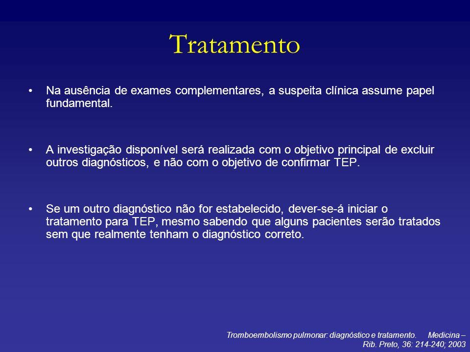 TratamentoNa ausência de exames complementares, a suspeita clínica assume papel fundamental.