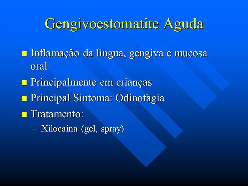 Gengivoestomatite Aguda