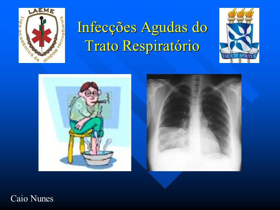 Infecções Agudas do Trato Respiratório
