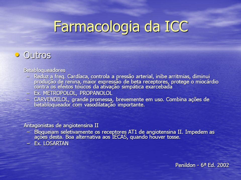 Farmacologia da ICC Outros